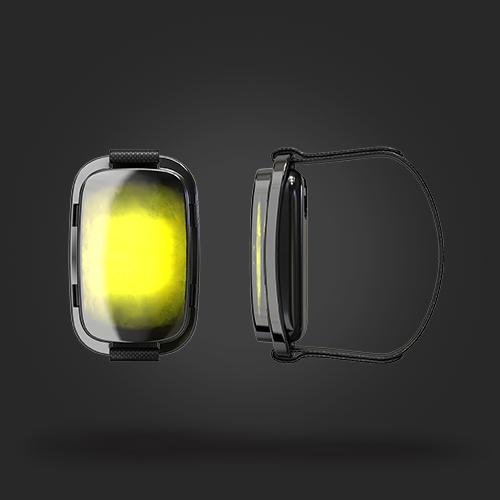 Bracelet Radius noir et jaune